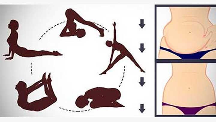 Elimina de tu vientre toda esa grasa acumulada solo con seguir estas 5 posturas de yoga que son más simple que cualquier ejercicio que conozcas. Hasta un niño podría hacerlas. ¡Vamos anímate!