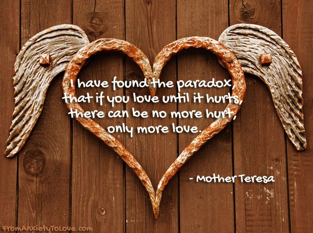 Pin By Corinne Zupko Author Tips On ACIM And Healing Anxiety On Extraordinary Mother Teresa Quotes On Anxiety