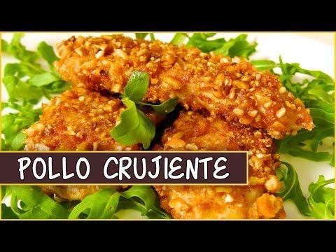 Receta del pollo crujiente rebozado con kikos (maíz frito) | La Cocina del Mundo