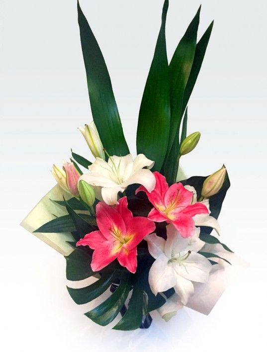 #Lily_Delight #Floret_Boutique -       Hand tied scented bouquet of long lasting oriental #lilies and tropical foliage. We providing fresh #floral arrangements, #hampers and a range of beautiful #gifts & pamper products, delivered to all areas of #Perth at affordable price.  https://goo.gl/hQhW0r