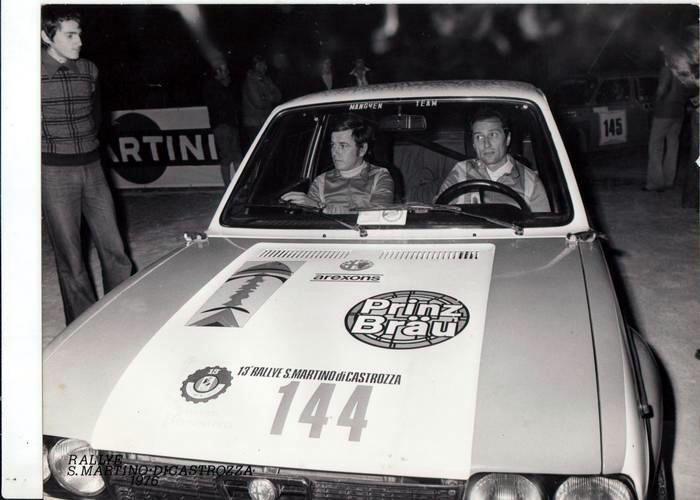 Alfasud- rally di San Martino di Castrozza 1976