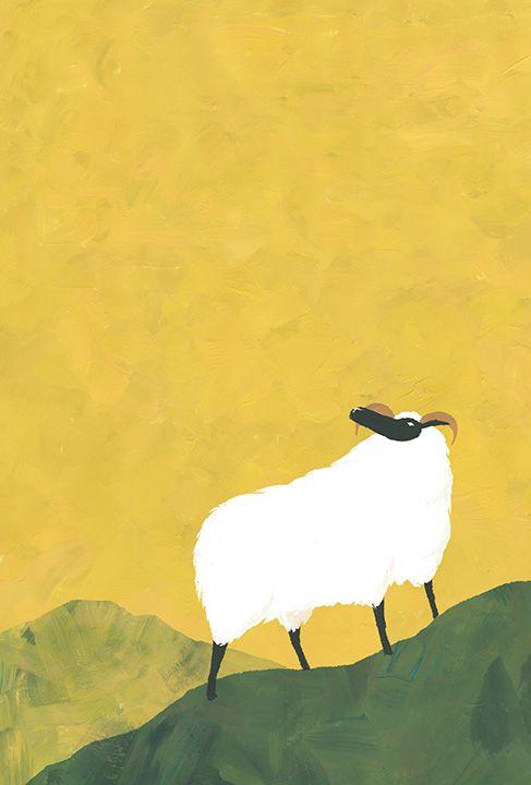 年賀状イラストレーション(グッドファーム・プランニング) New year's card...   Takahiro Suganuma Illustration #illustration #animal