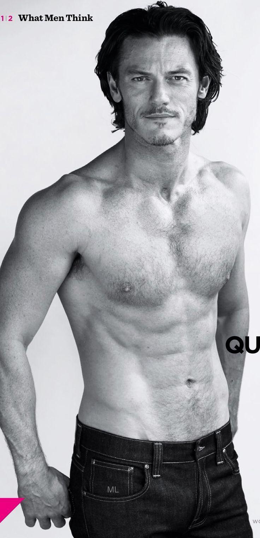 Luke Evans: Mein Andrew MacIan, Gentleman in jeder Lebenslage.