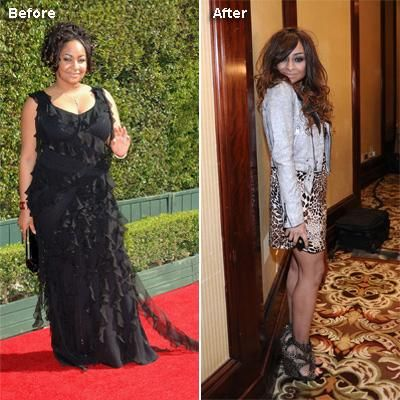 Celebrity Before and After Weight Loss: Raven Symone