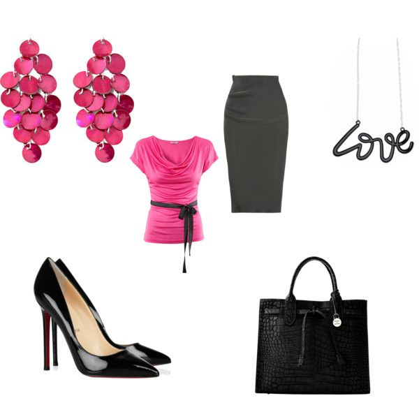 Working Woman, created by rena-burton on Polyvore