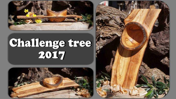 """Ξυλοτορνος-Μετεωρο μπολ / Woodturning -From a log to a """"log"""" bowl #Chall..."""