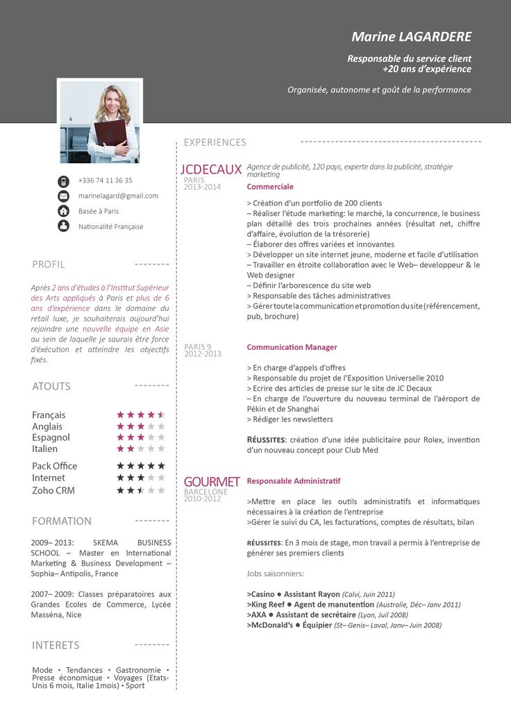 16 best cv images on pinterest