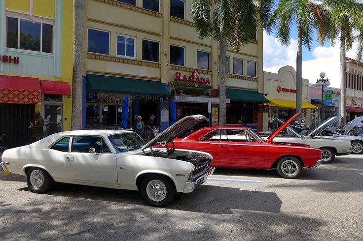 Classic Car Show, Hollywood, Miami #Miamiitiamo #ClassicCar