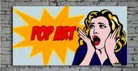 Pittura a olio astratta pop art pittura su tela pittura murale immagine casa astratta contemporanea di illustrazioni