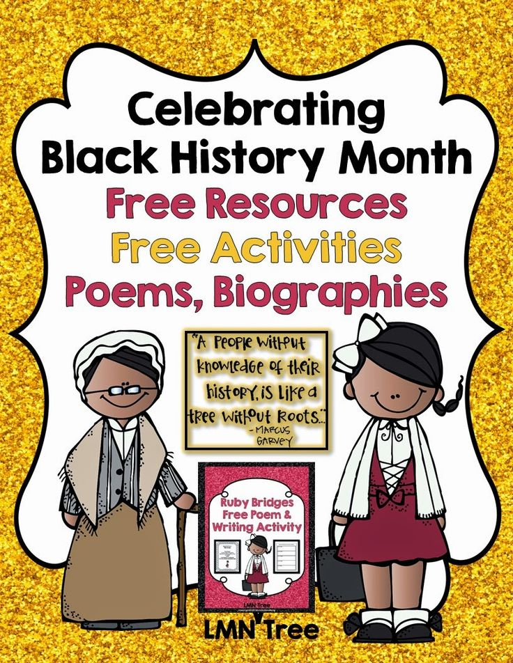 LMN Tree: Celebrating Black History Month with Free Resources, Poems, Biographies, and Free Activities