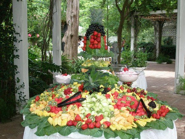Receptions Food Displays And Prime Time On Pinterest: 1286910266476 FruitDisplay011