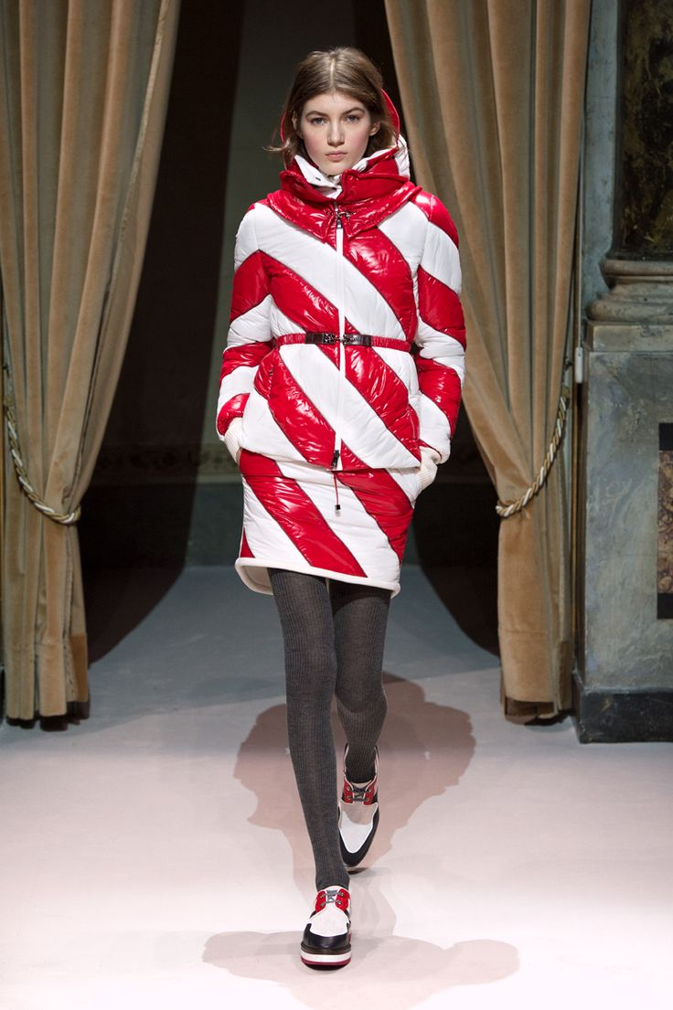 Look 5 from Fay Women's Fall - Winter 2014/15 collection seen on the catwalk.