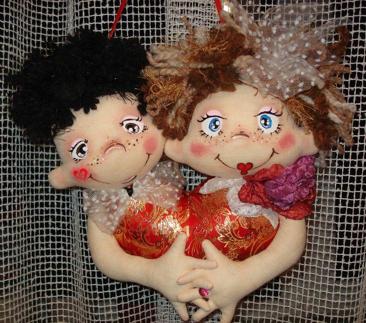 Одно сердце на двоих.Свадебный сувенир.