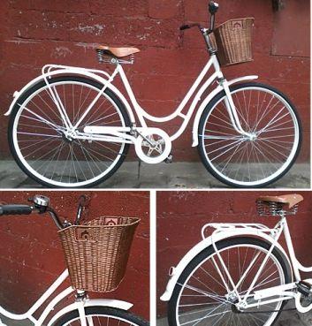 Rent for all | Bicicleta Feminina c/cesto - Anuncie ou Alugue já!