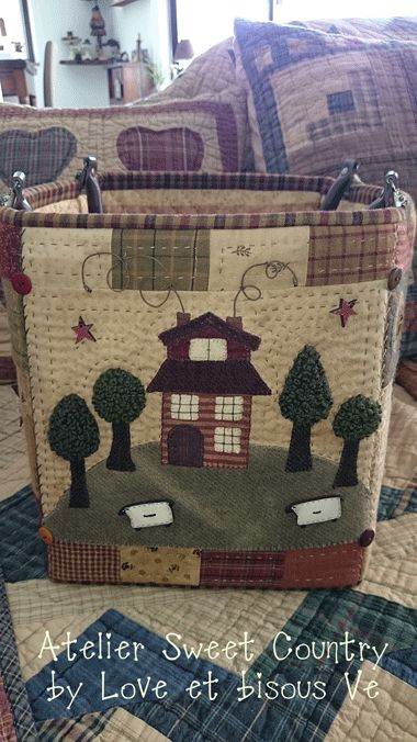Atelier Sweet Country: Una borsa/cestino ...