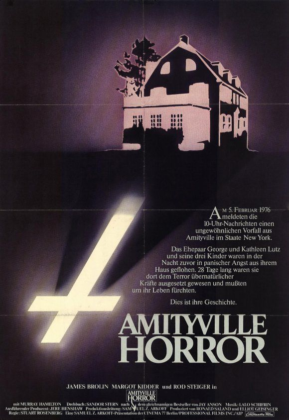 amityville horror (original only, the crappy remake does not count for me at all. No matter how hot ryan reynolds is)
