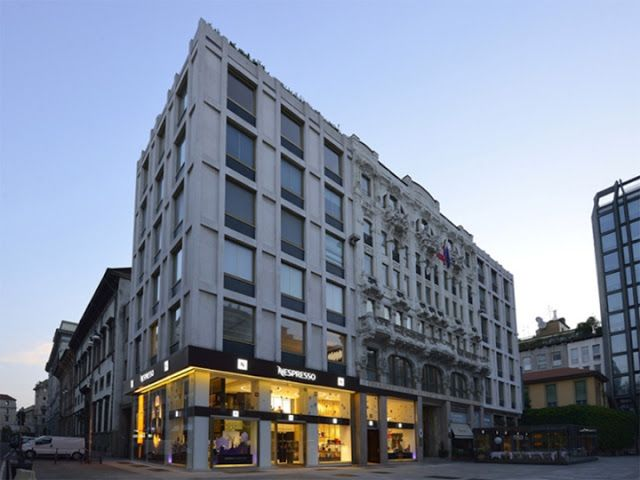 THE SHOP LOCATOR: Nespresso Flagship Store. Milan.