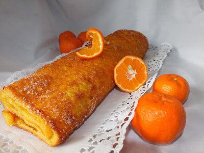 A cozinha do Titó: Torta de tangerina