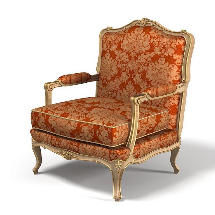 Zanaboni Luigi Chair 3D Max   3D Model