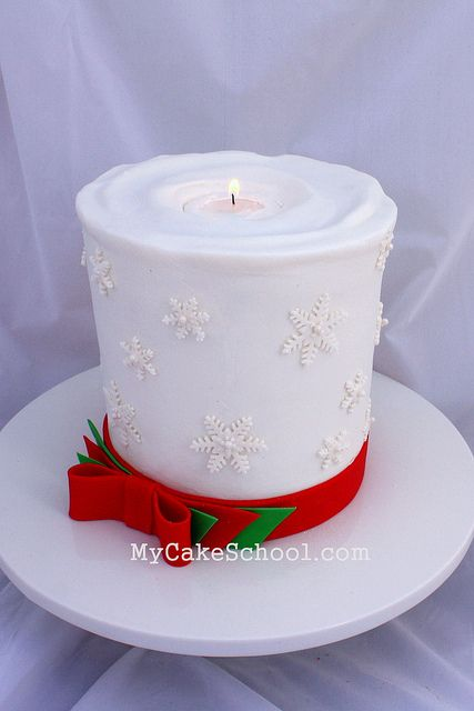 Christmas Candle Cake Images : 822 best images about Cake Porn on Pinterest Owl cakes ...