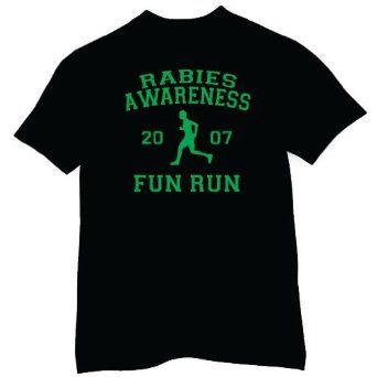 Amazon.com: Rabies Awareness Fun Run T-shirt, The Office T-shirts, TV show T-shirts: Clothing