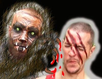 Halloween Werewolf Slash Face Painting Tutorial