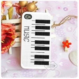 Nice piano pattern for the KEC case (not the Leese Design original)