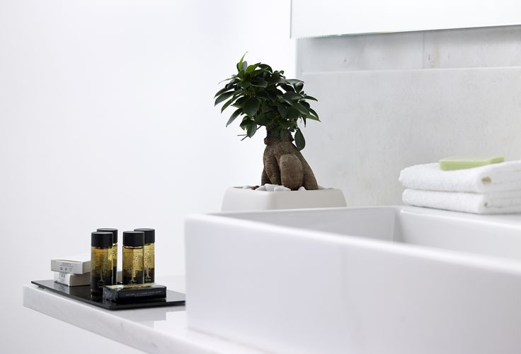 Luxury Bathroom with all necessary products. #SamariaHotel #Crete #Chania