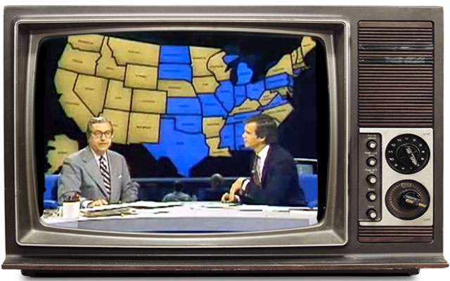 Watch a round-up of news casts from 1948 announcing the winner of the Presidential election.