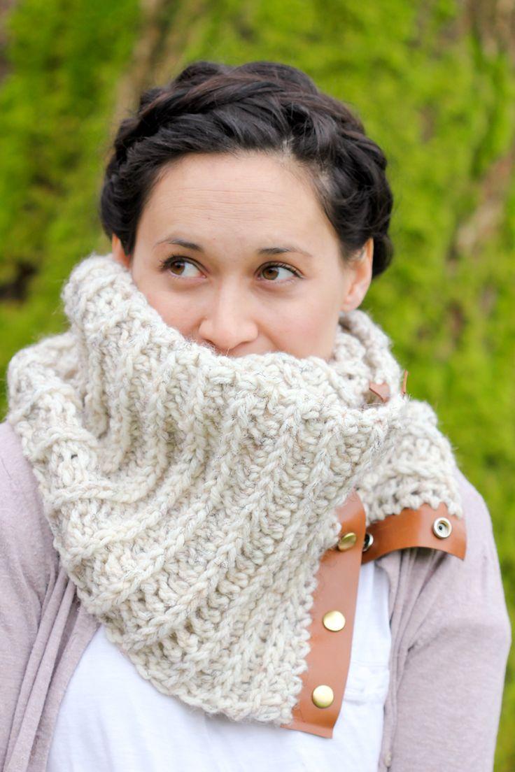 Crochet Snap Scarf Free Pattern
