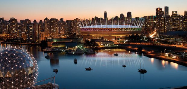 BC Place, home of the Vancouver Whitecaps