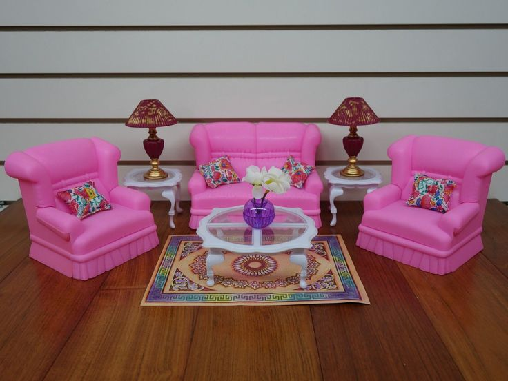 Gloria barbie doll house furniture 9704 my fancy life for Muebles para barbie