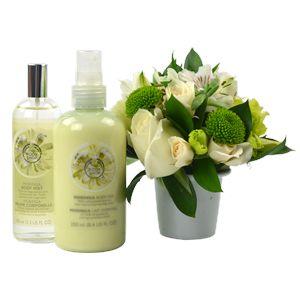 Aroma Natural - The Body Shop R$ 199,00 ou até 3X de R$ 66,33 nos cartões Visa, MasterCard e Diners (sem juros)    http://www.floresonline.com.br/detalhe.asp?flor=8133