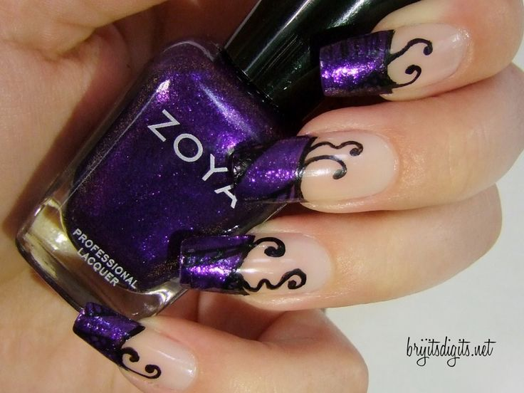 40 best my future nail designs images on pinterest make up unusual nail art unique purple acrylic nail art ideas unique designs for purple nail prinsesfo Images