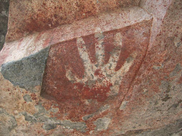 Cueva de los Manos - Negative, Villa Cerro Castillo, Patagonia, Chile