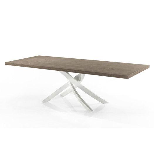 """Bontempi Casa Artistico 98"""" Extendable Dining Table"""