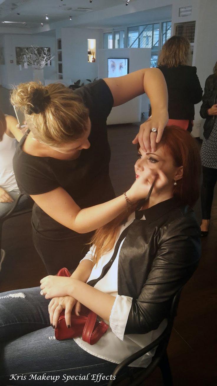 Evento Big&False Lash by Avon ~ Kris Makeup Special Effects