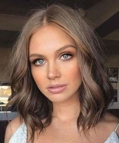 trending mushroom brown hair