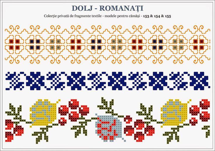 Semne Cusute Traditional Romanian Motifs Oltenia Dolj Roman Beading Romania