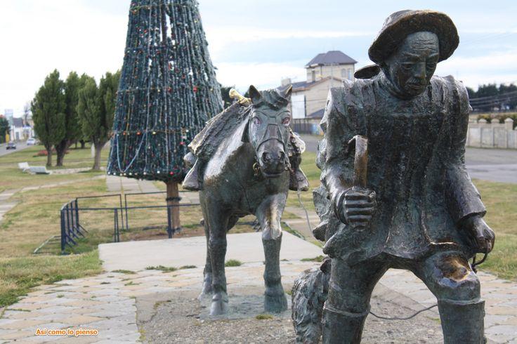 Punta Arenas - Monumento al ovejero