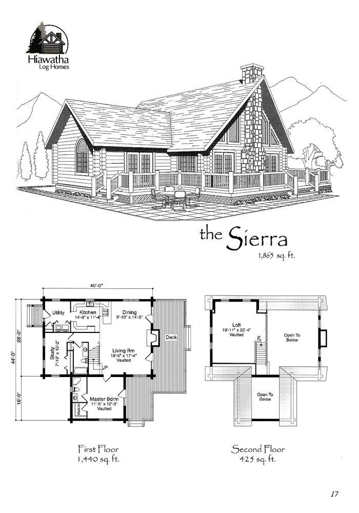 12 best Log Home Floor Plans images – Cedar Log Home Floor Plans