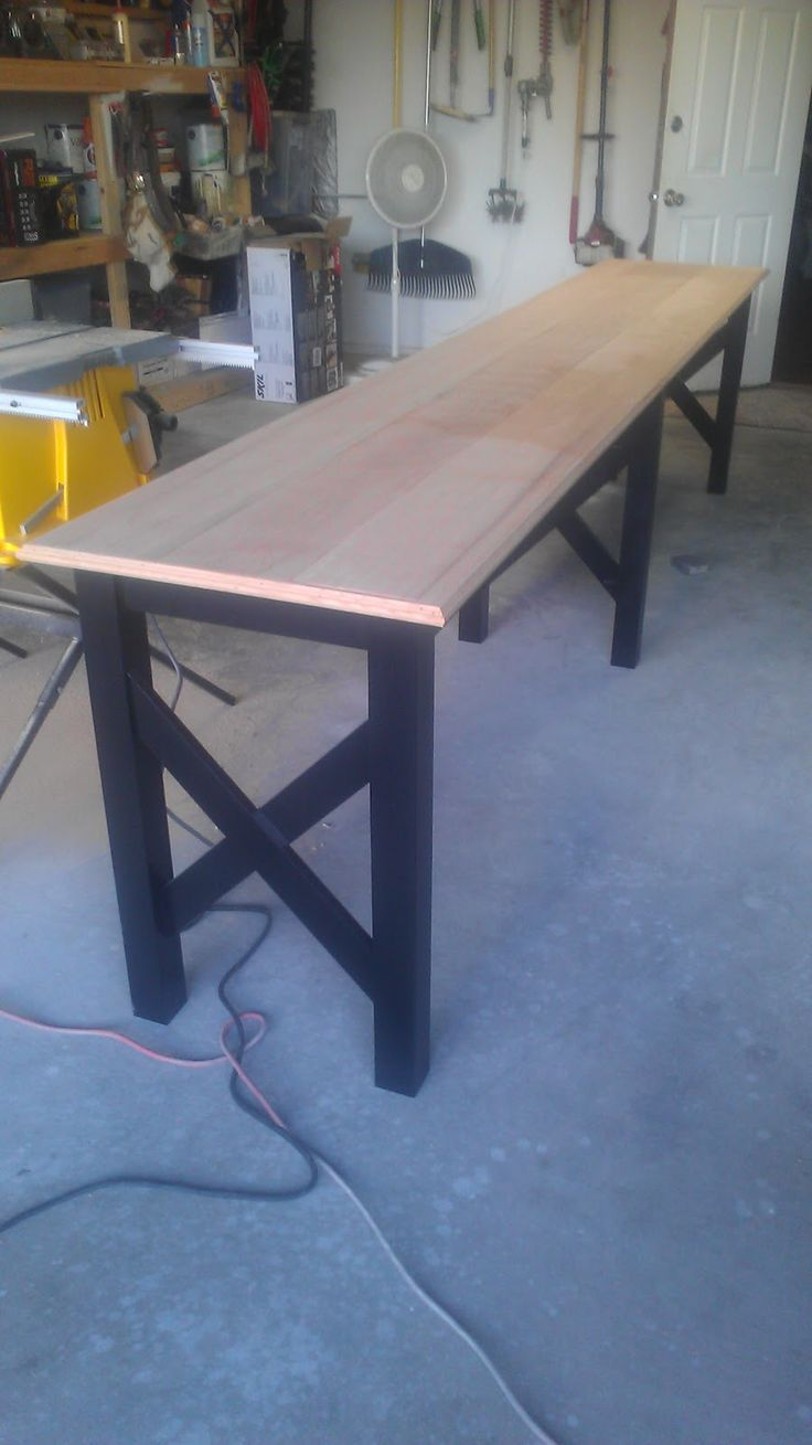 Best 25 long sofa table ideas on pinterest diy sofa table deep in the heart of texas vette extra long sofa table geotapseo Gallery