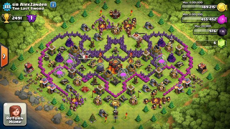 clash of clans base copy