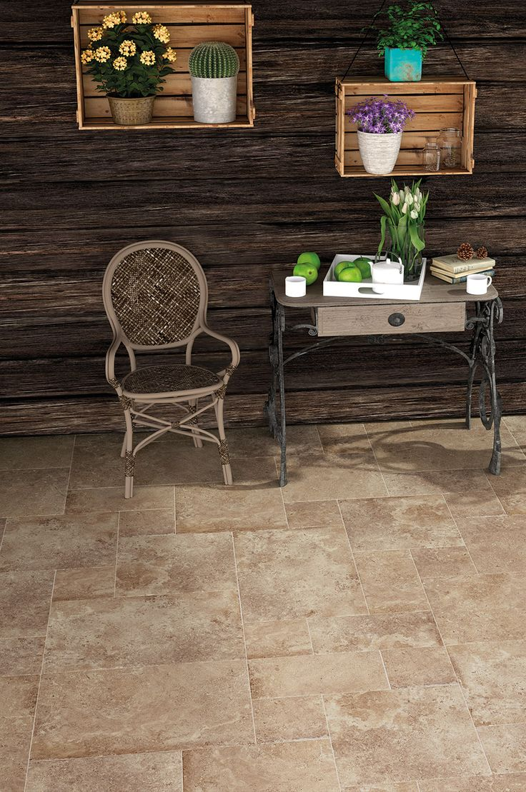 69 best rustic traditional tiles images on pinterest backsplash create a traditional flagstone look with the porcelain chatsworth range of modular floor tiles dailygadgetfo Image collections