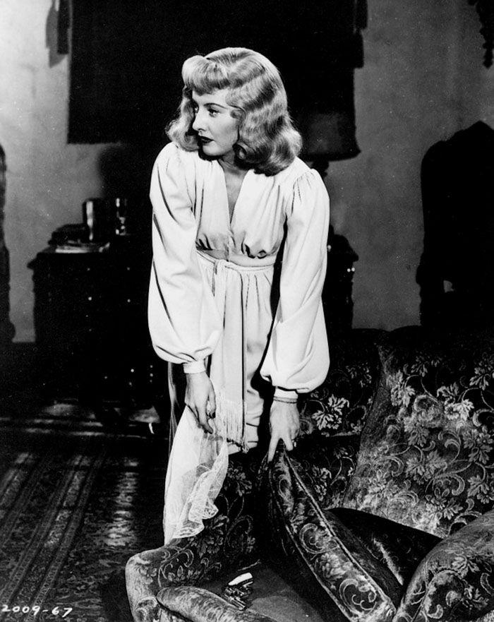"""Barbara Stanwyck en """"Perdición"""" (Double Indemnity), 1944"""