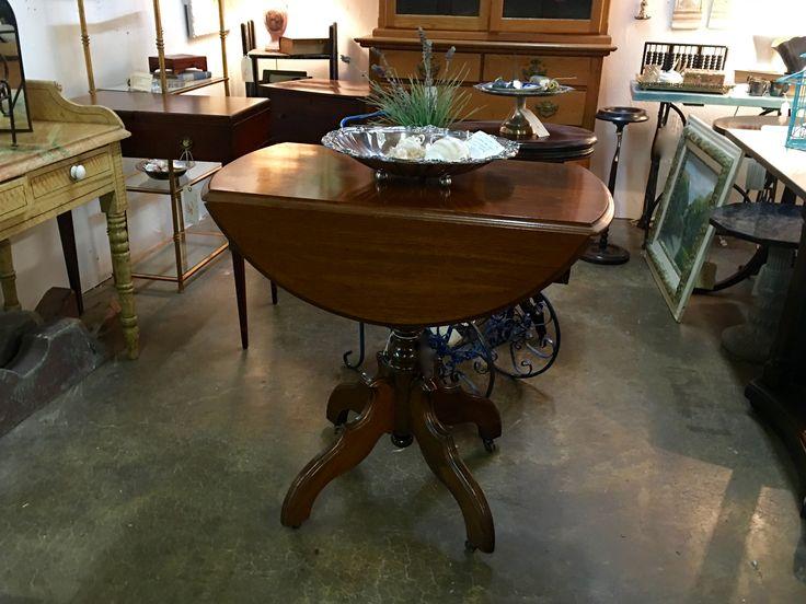 Antique Drop Leaf Table On Sale Was 280 Price 224 Vintage Affection Dealer 1680