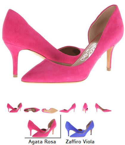 Pantofi agata rosa Salvatore Ferragamo Pam Glass si zaffiro Viola. Detalii aici http://thankyou.ws/pantofi-stiletto-din-piele-naturala-alege-calitatea #pantofisenzationali  #pantoficutocstiletto #pantofidinpielenaturala #pantofistilettopielenaturala #SalvatoreFerragamo