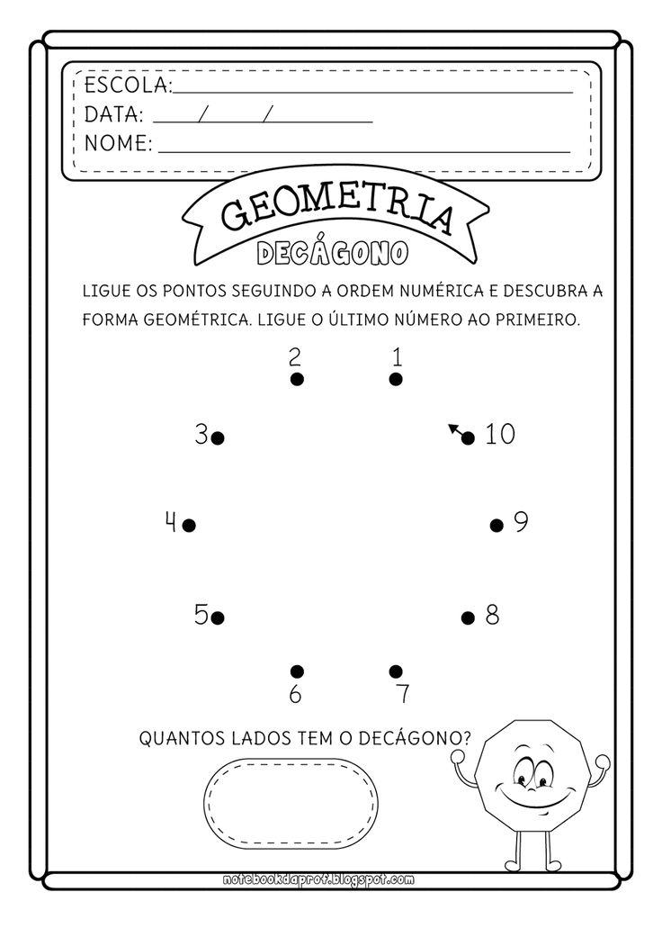 Notebook da Profª: Formas Geométricas