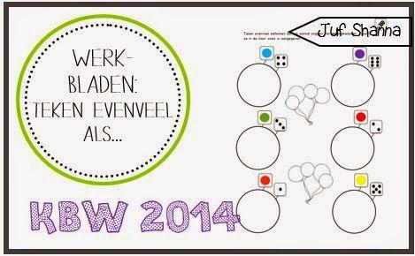 Kinderboekenweek 2014: Teken evenveel als... (kleuters)