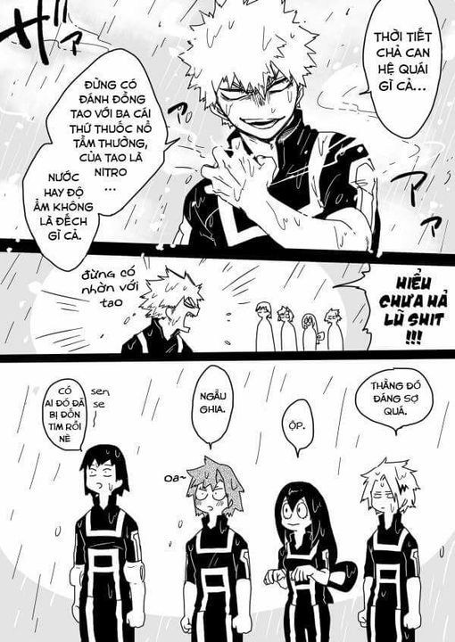 Đọc Truyện [BnHA]Boku no Hero Academia - sưu tầm ! - Phần 45 : Doujinshi(3)  - Trang 3 - Mèo Đen - Wattpad - Wattpad